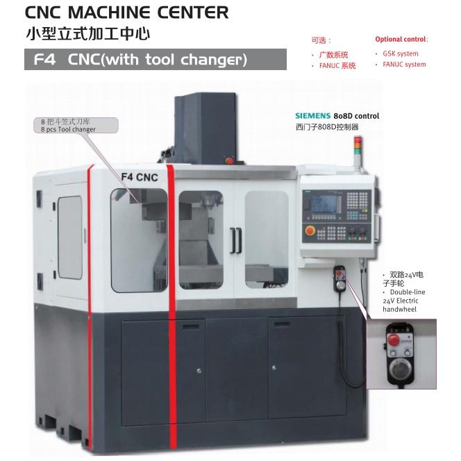 CNC MILLING MACHINE F4