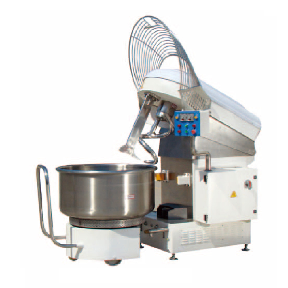Spiral mixers with removable bowl