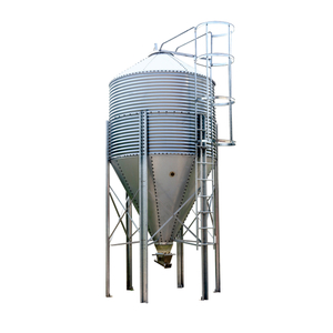 Galvanized feed tower assorted storage bin