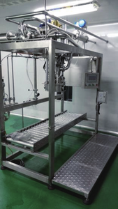 Single/Double Aseptic filler Automatic rinsing filling and capping machine